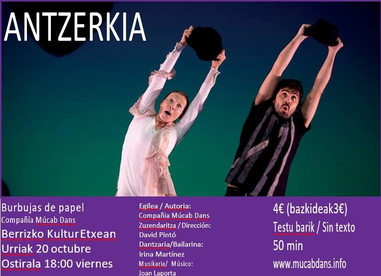"""Berriz, """"Burbujas de papel"""" @ Berrizko Kultur Etxea"""