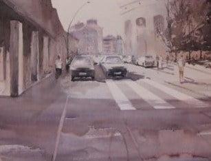 Amorebieta-Etxano, Enrike Renteria Pintura Lehiaketaren lanen erakusketa @ Zelaietako erakusketa gela