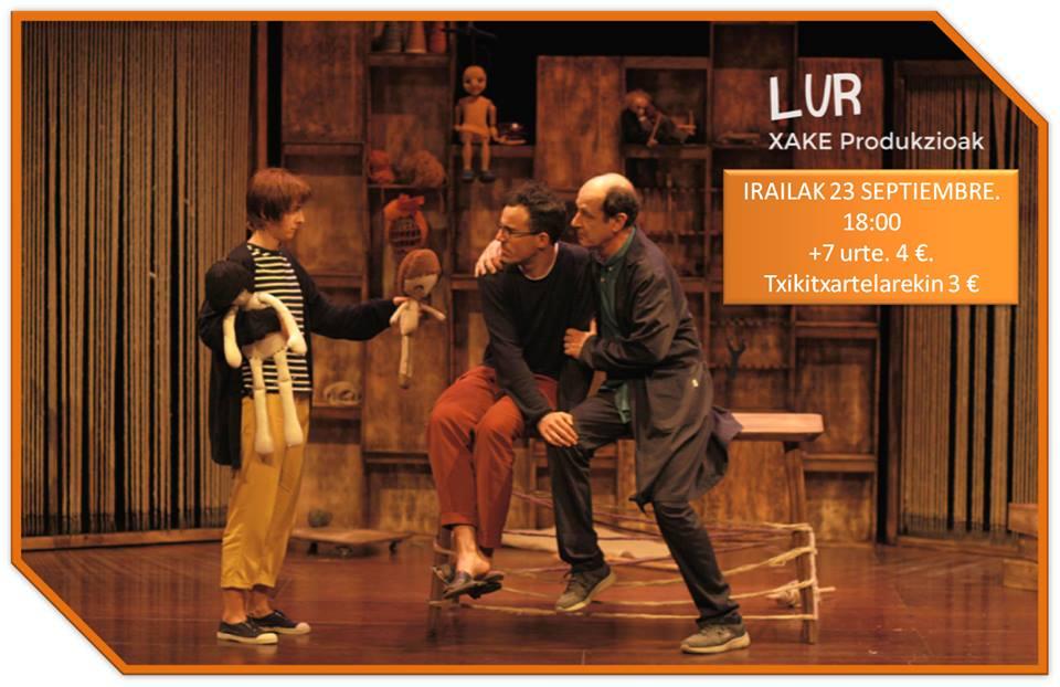 """Durango, """"Lur"""" umeentzako antzerkia @ San Agustin Kultur Gunea"""