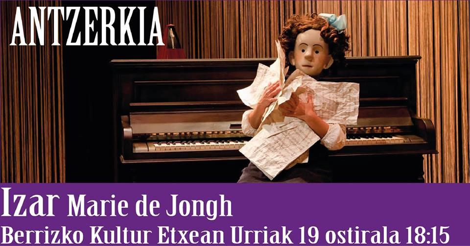 """Berriz, """"Izar"""" Marie de Jongh @ Berrizko Kultur Etxea"""
