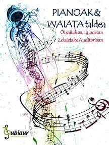 """Amorebieta-Etxano, """"Piano eta Waiata taldea"""" @ Zelaietako auditorioa"""