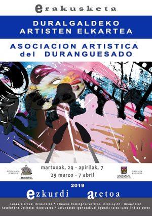 Durango, Durangaldeko Artisten Elkartearen erakusketa @ Ezkurdi