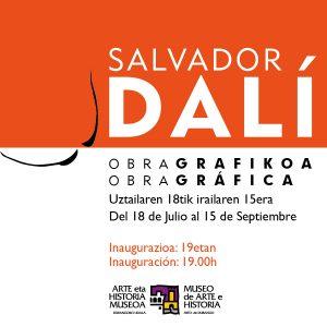 Durango, Salvador Dali erakusketa @ Durangoko Museoa