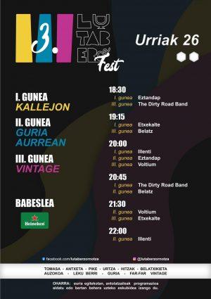 Amorebieta-Etxano, III. Lutaber Fest @ Amorebieta-Etxano