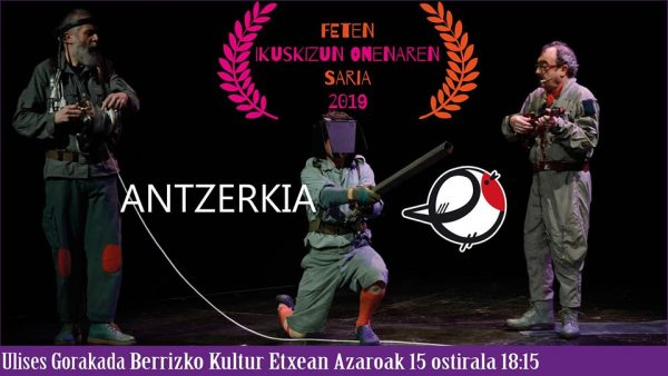 """Berriz, """"Ulises"""" @ Berrizko Kultur Etxea"""