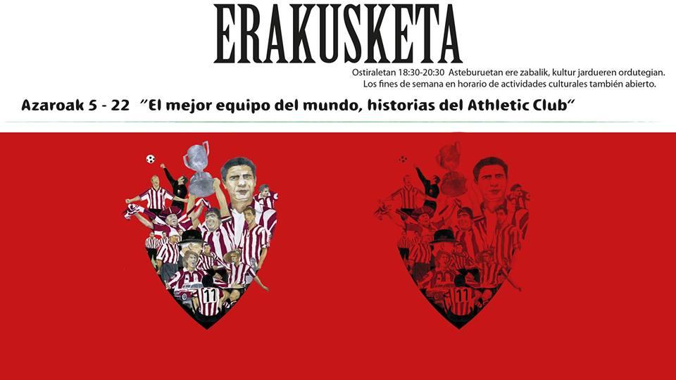 """Berriz, """"El mejor equipo de fútbol, historias del Athletic Club"""" @ Berrizko Kultur Etxea"""