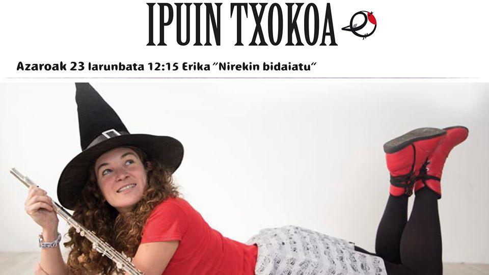 """Berriz, """"Nirekin bidaiatu"""" ipuin txokoa @ Berrizko Kultur Etxea"""