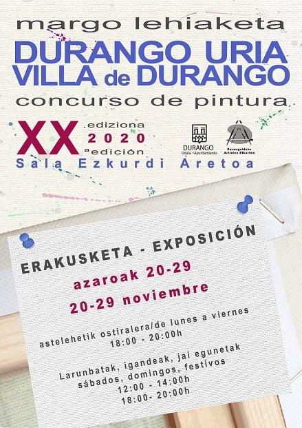 Durango, Durango Uria XX. Edizioa @ Ezkurdi Erakusketa Aretoa