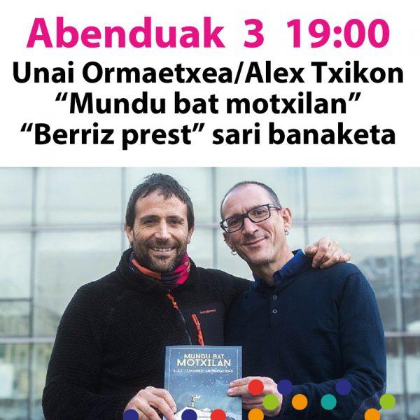 """Berriz, """"Motxila Munduan"""" @ Berrizko Kultur Etxea"""
