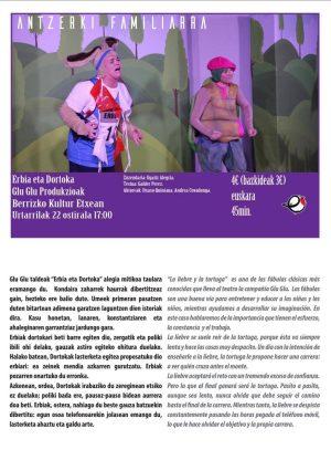 """Berriz, """"Erbia eta dortoka"""" @ Berrizko Kultur Etxea"""