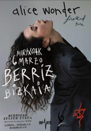 """Berriz, """"Alice Wonder"""" @ Berrizko Kultur Etxea"""