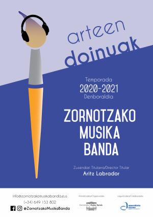 """Amorebieta-Etxano, """"Koloreen doinuak"""" Zornotzako Musika banda @ Zornotza Aretoa"""
