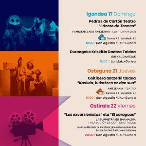 Durango, Kultur Aro @ San Agustin Kultur Gunea